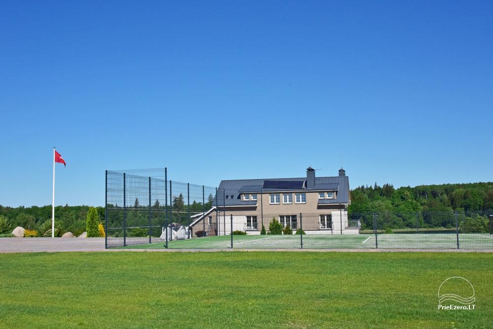 Vila ILGAI – nauja ir šiuolaikiška sodyba prie ežero šalia Trakų - 9