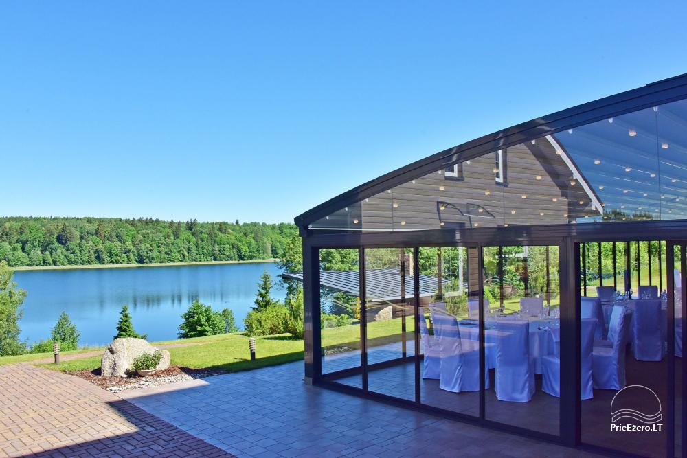 Vila ILGAI – nauja ir šiuolaikiška sodyba prie ežero šalia Trakų - 12