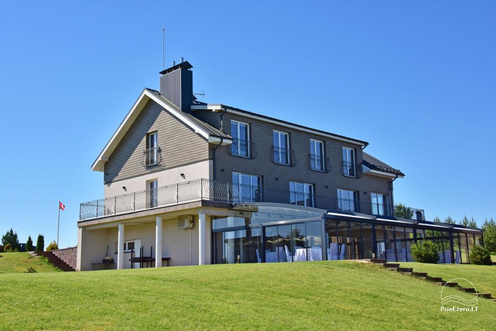 Vila ILGAI – nauja ir šiuolaikiška sodyba prie ežero šalia Trakų - 14