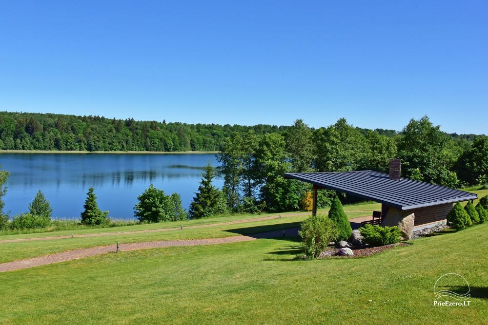 Vila ILGAI – nauja ir šiuolaikiška sodyba prie ežero šalia Trakų - 16