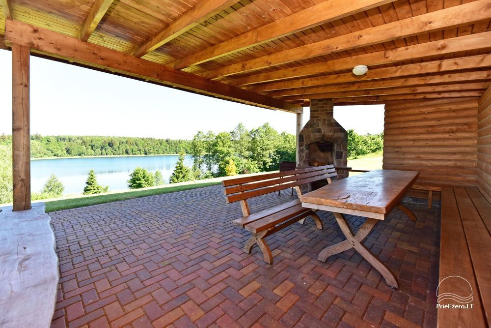 Vila ILGAI – nauja ir šiuolaikiška sodyba prie ežero šalia Trakų - 17
