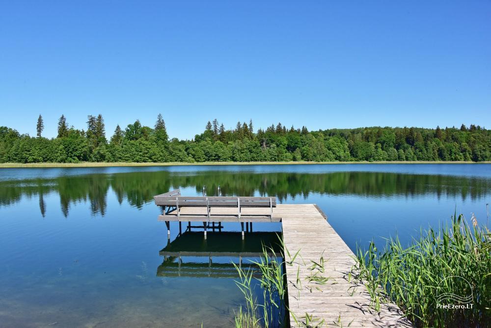 Vila ILGAI – nauja ir šiuolaikiška sodyba prie ežero šalia Trakų - 19