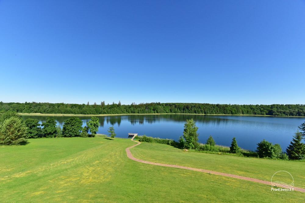 Vila ILGAI – nauja ir šiuolaikiška sodyba prie ežero šalia Trakų - 18