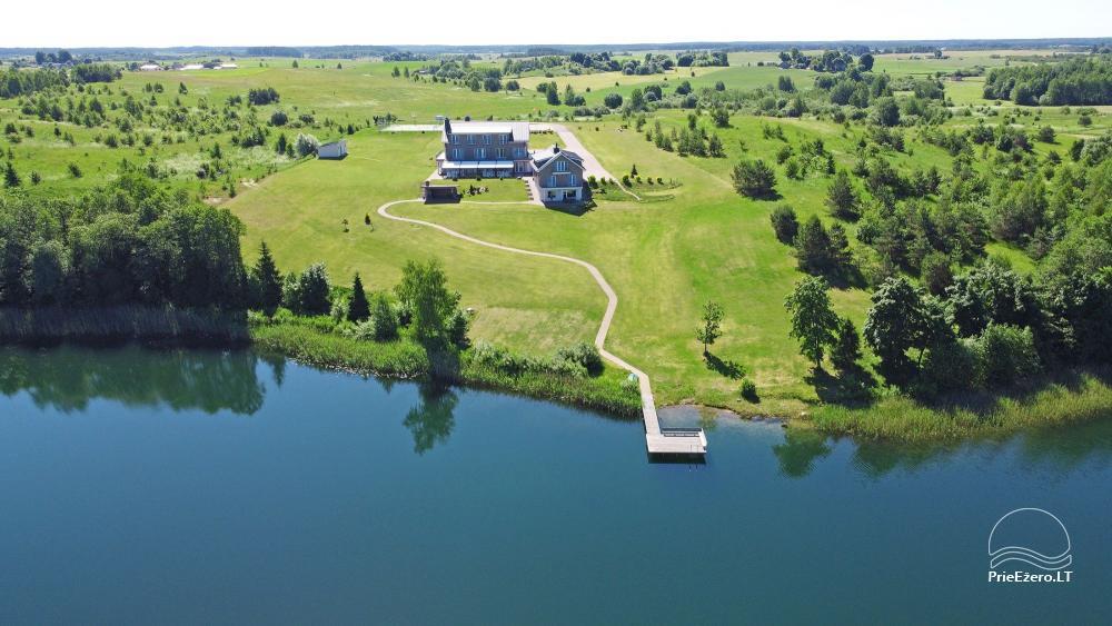 Vila ILGAI – nauja ir šiuolaikiška sodyba prie ežero šalia Trakų - 15