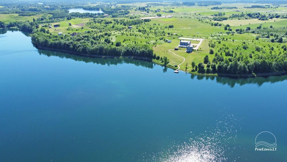 Vila ILGAI – nauja ir šiuolaikiška sodyba prie ežero šalia Trakų - 3