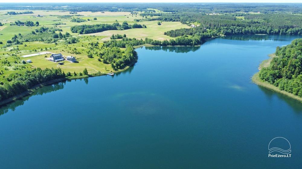 Vila ILGAI – nauja ir šiuolaikiška sodyba prie ežero šalia Trakų - 4