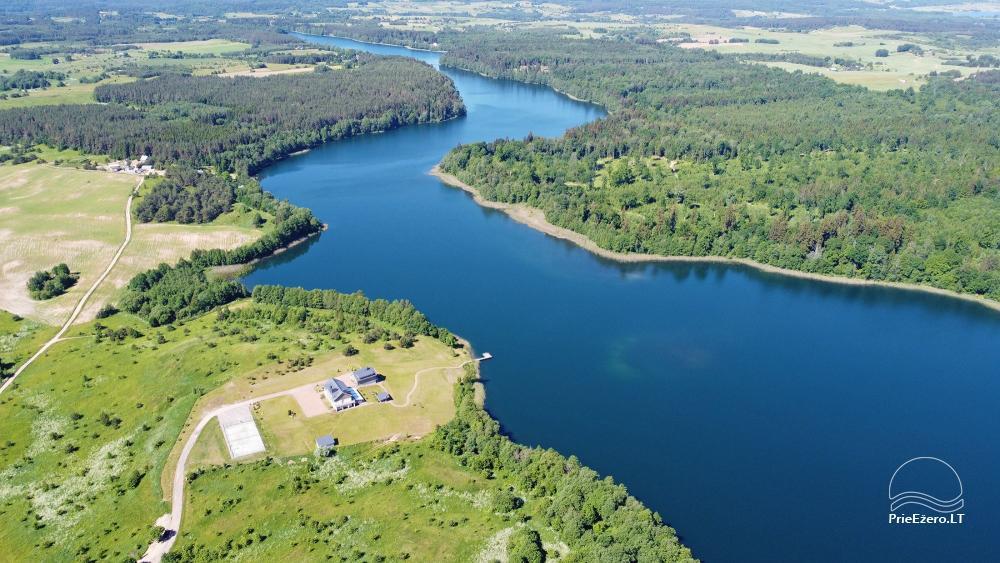 Vila ILGAI – nauja ir šiuolaikiška sodyba prie ežero šalia Trakų - 5