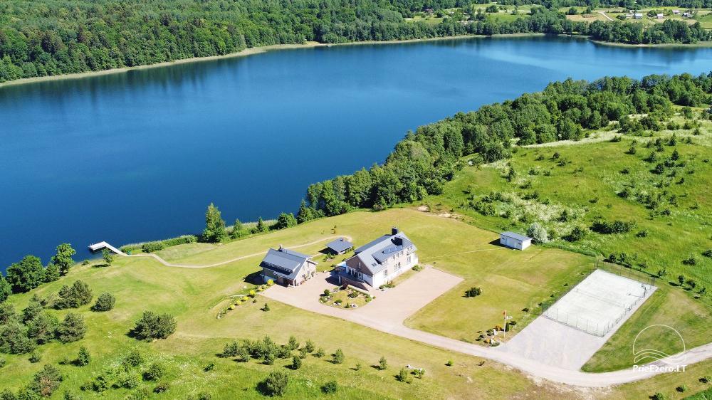 Vila ILGAI – nauja ir šiuolaikiška sodyba prie ežero šalia Trakų - 6