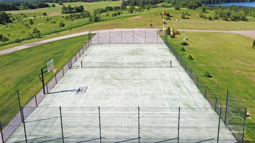 Nauji teniso kortai
