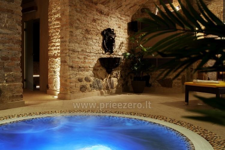 Pobūvių salė, pirčių kompleksas, sūkurinė vonia Vilniuje Barboros svajos - 1