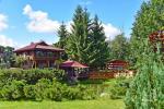 """8-vietis Rąstinis namelis su pirtimi ir kubilu prie Šventosios upės """"AKMENINĖ SALA"""" - 3"""