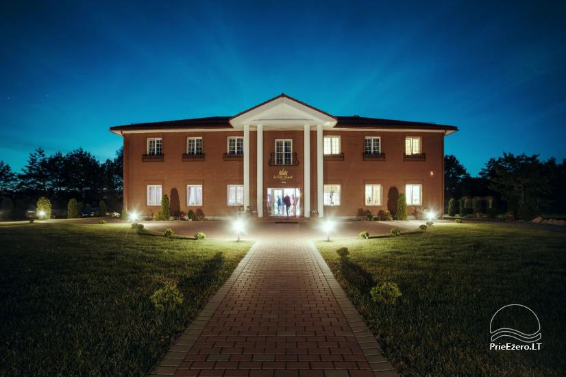"""La Villa Royale"" – išskirtinėms šventėms bei konferenсijoms! - 12"