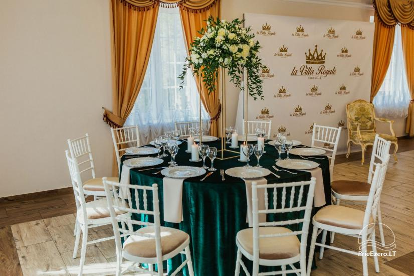 """La Villa Royale"" – išskirtinėms šventėms bei konferenсijoms! - 36"