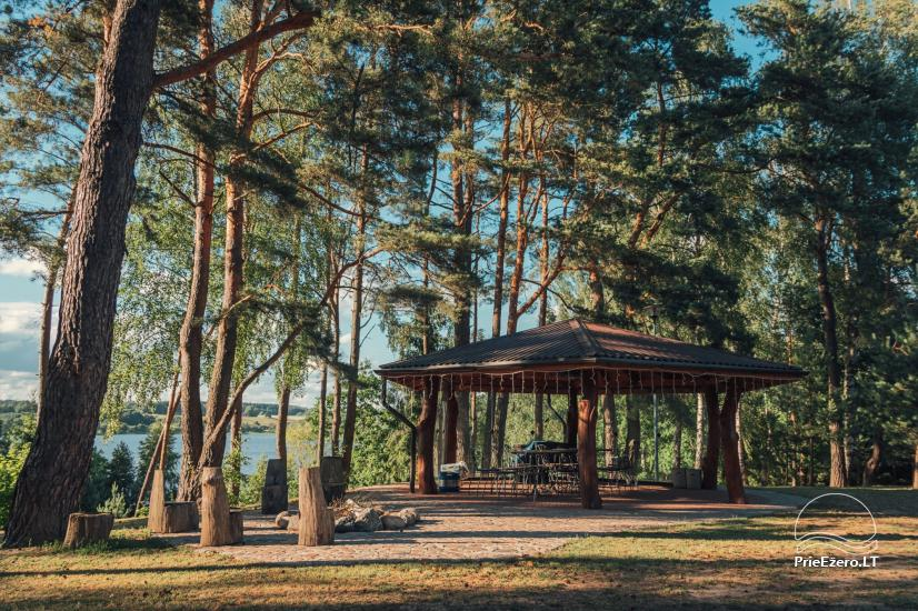 Radvilių sodyba Anykščių rajone, prie Nevėžos ežero - 1