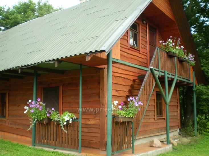 "Namelis ant Siesarčio ežero kranto Molėtų rajone šeimų poilsiui ""Vyšnia"" - 5"