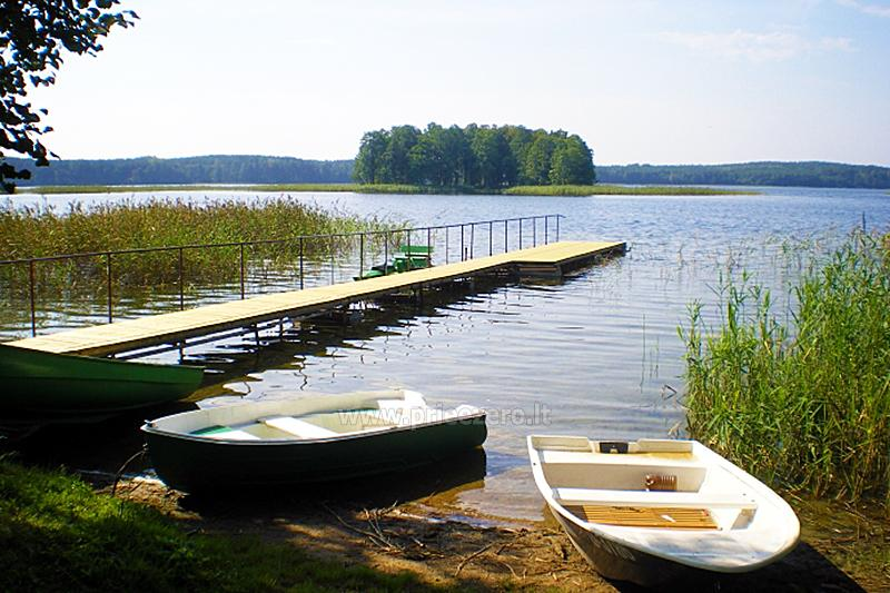 "Namelis ant Siesarčio ežero kranto Molėtų rajone šeimų poilsiui ""Vyšnia"" - 14"