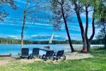 Kaimo turizmo sodyba Molėtų raj. prie Siesarčio ežero: nameliai, dažasvydis, keturračiai