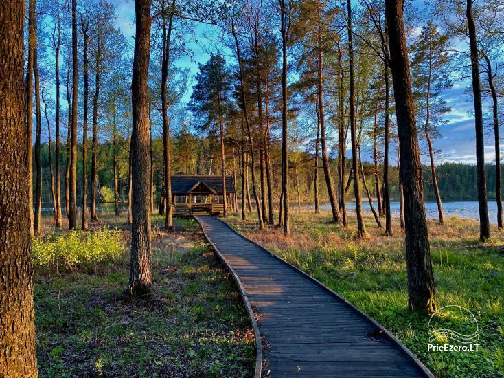 """Poilsiavietė prie Siesarties ežero - """"Ąžuolas"""" - 9"""