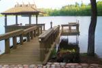 Sodyba 5 km nuo Trakų ant ežero kranto poilsiui ir šventėms: pirtis, salė, kambariai - 5