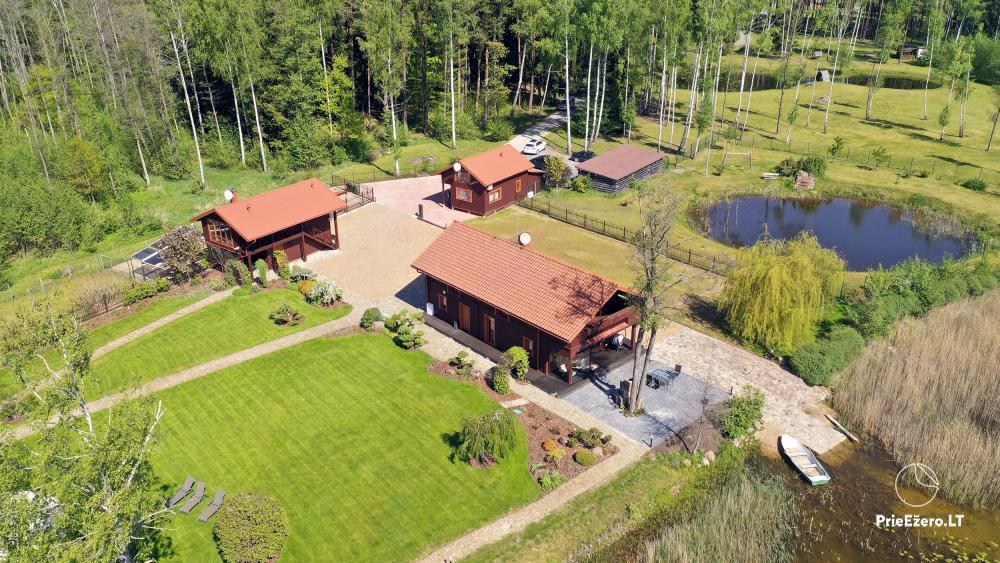 """Namukų nuoma Molėtų rajone prie Bebrusų ežero """"Bebrusų sodyba"""" - 2"""