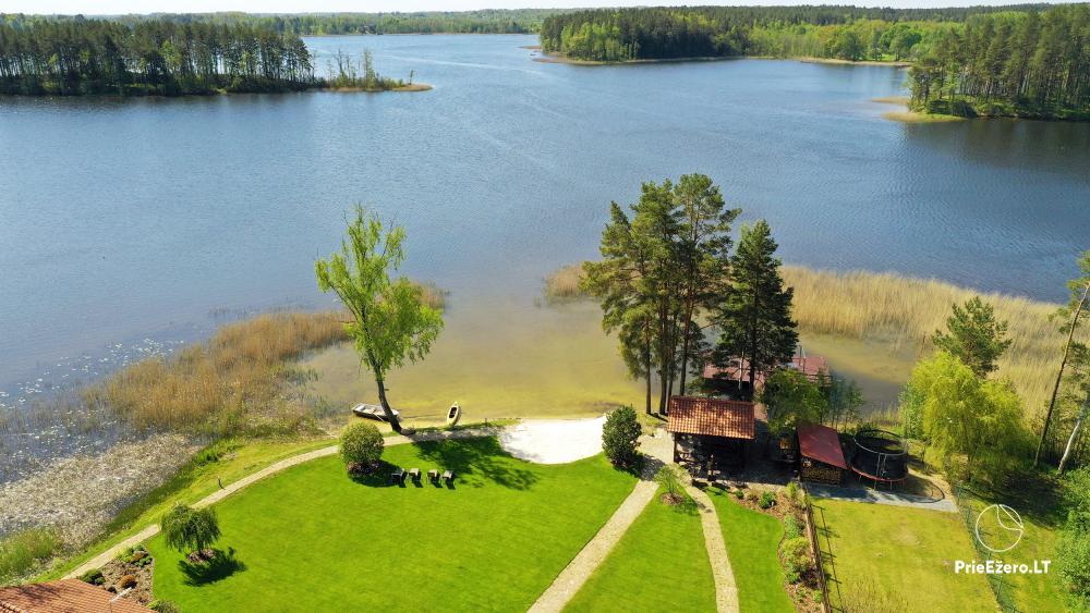 """Namukų nuoma Molėtų rajone prie Bebrusų ežero """"Bebrusų sodyba"""" - 8"""