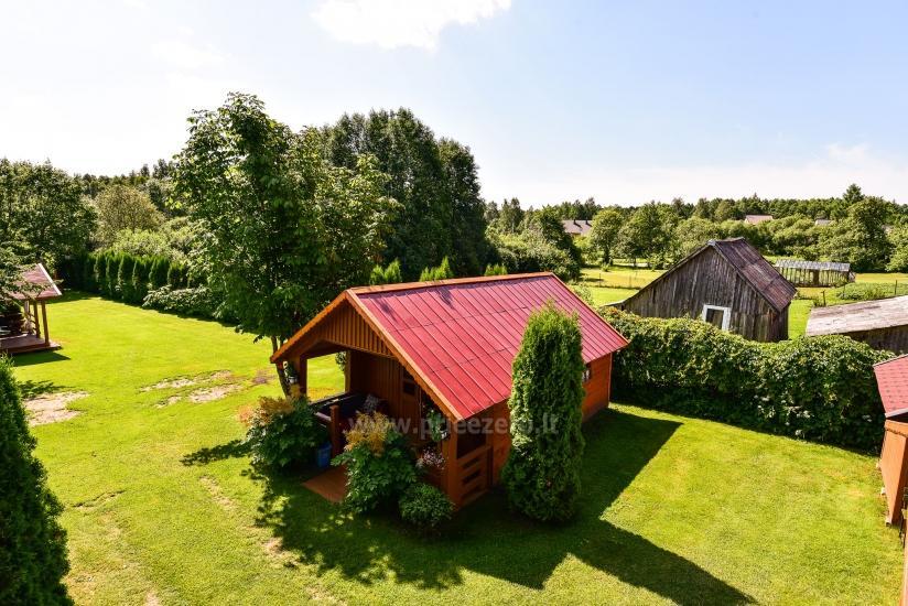 Julijos ir Broniaus Staponkų sodyba: namelių nuoma prie Platelių ežero - 9
