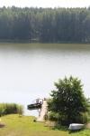 """Sodyba """"Poilsis prie Veisiejo""""  įsikūrusi miške, prie  Veisiejo ežero"""