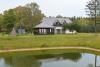 Pagrindinis sodybos namas su pokylių sale, virtuve ir miegamaisiais