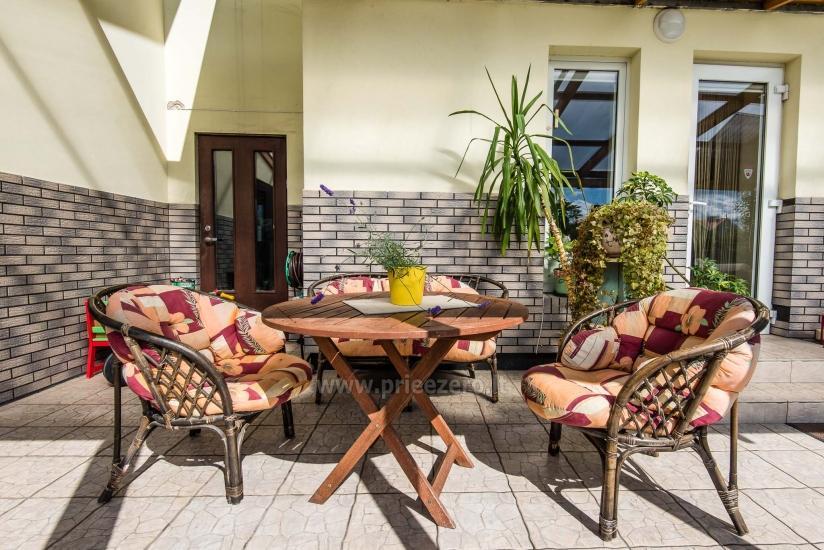 Puikūs apartamentai su turkiška pirtimi ir baseinu kieme - 4