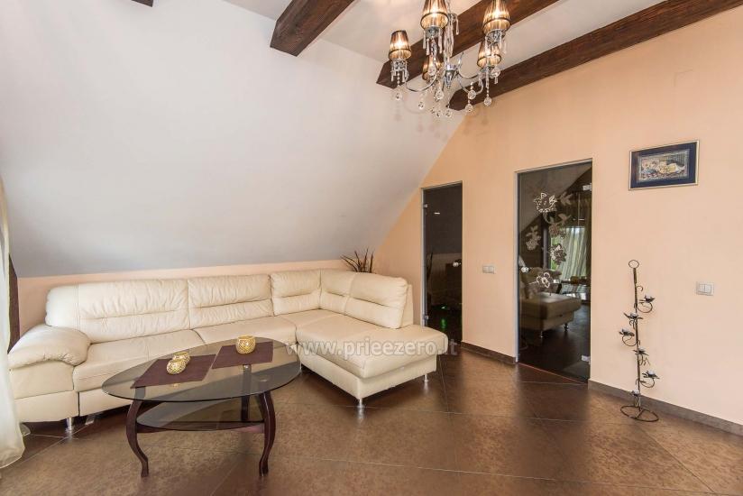 Puikūs apartamentai su turkiška pirtimi ir baseinu kieme - 15