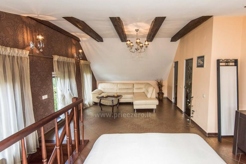 Puikūs apartamentai su turkiška pirtimi ir baseinu kieme - 18