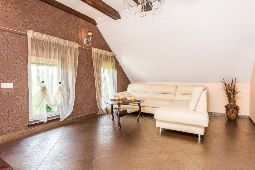 Puikūs apartamentai su turkiška pirtimi ir baseinu kieme - 20