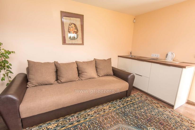 Puikūs apartamentai su turkiška pirtimi ir baseinu kieme - 21