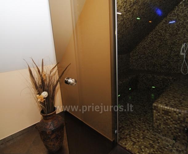 Puikūs apartamentai su turkiška pirtimi ir baseinu kieme - 24