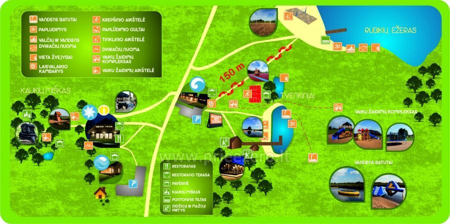 Gamtos ir poilsio parkas Gradiali Anykščiai prie Rubikių ežero - 50