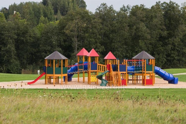 Gamtos ir poilsio parkas Gradiali Anykščiai prie Rubikių ežero - 48