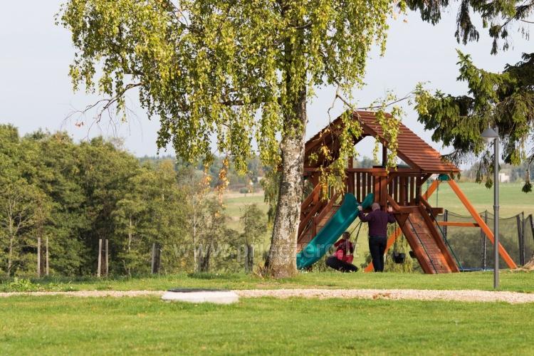 Gamtos ir poilsio parkas Gradiali Anykščiai prie Rubikių ežero - 49