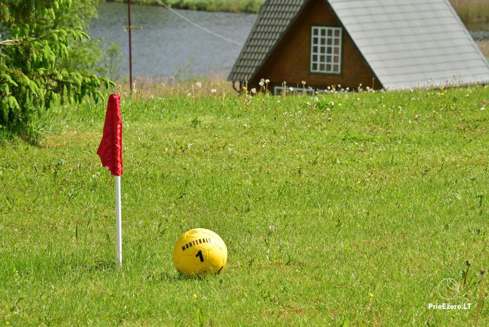 L.Šablinsko sodyba prie Dėlinio ežero Pagriaumėlė. Montebolas–naujas sportinis žaidimas - 24