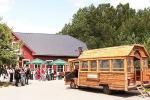 """""""Kernavetė"""" - originalus medinis 20 vietų autobusas ekskursijoms"""