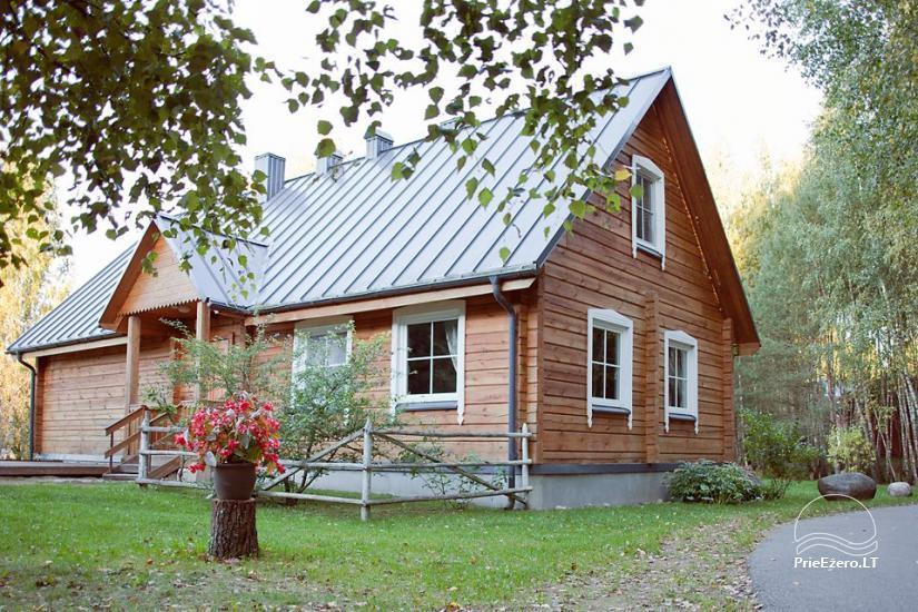 Poilsis rąstiniuose namuose individualiai šeimoms laisvalaikio centre KERNAVĖS BAJORYNĖ - 32