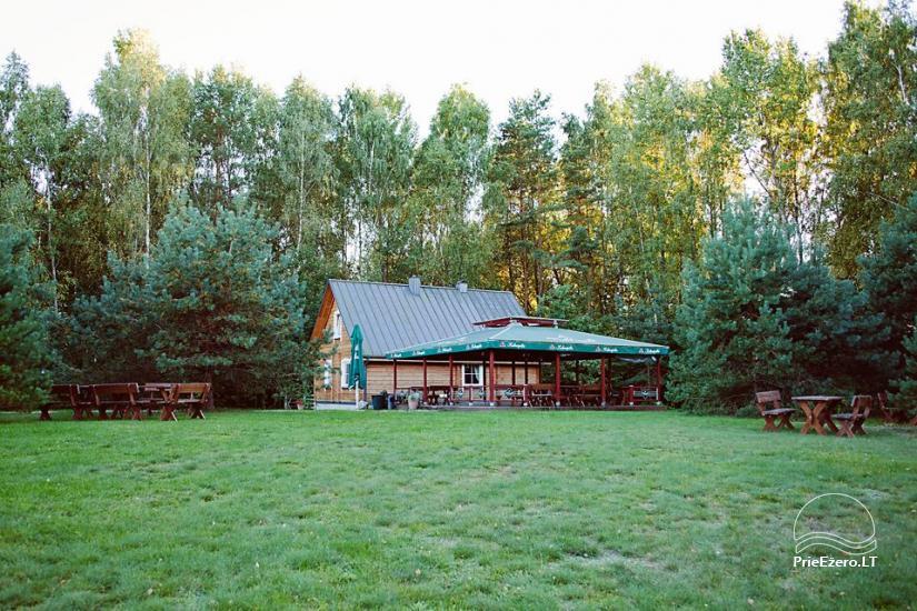 Poilsis rąstiniuose namuose individualiai šeimoms laisvalaikio centre KERNAVĖS BAJORYNĖ - 34