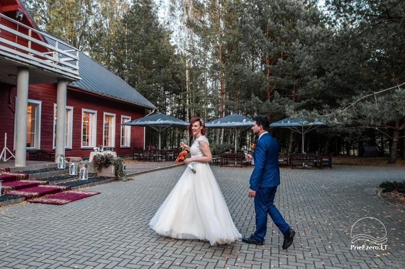 Poilsis rąstiniuose namuose individualiai šeimoms laisvalaikio centre KERNAVĖS BAJORYNĖ - 22