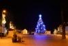 Šalia - Birštono miesto aikštės Kalėdų eglutė