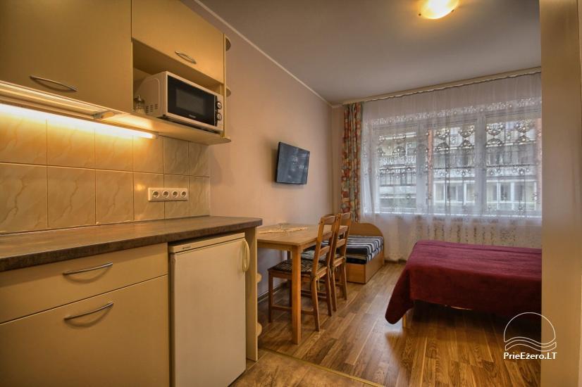 Jaukus 1 kambario butas – studija Druskininkų centre šalia vandens parko ir gydyklų - 9