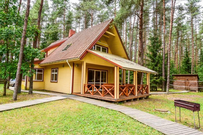 Vila poilsiui Plungės rajone prie Platelių ežero Plokštinė - 1