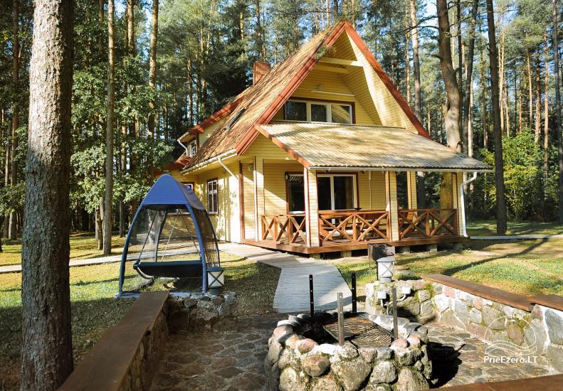 Vila poilsiui Plungės rajone prie Platelių ežero Plokštinė - 20