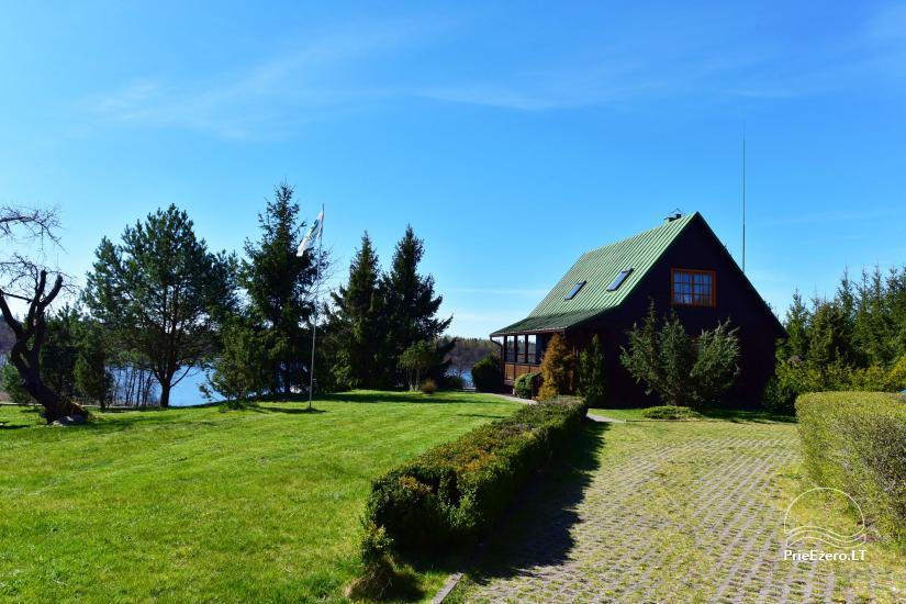 """Sodyba, namelių nuoma """"Gandrė"""" ant Guosto ežero kranto - 1"""