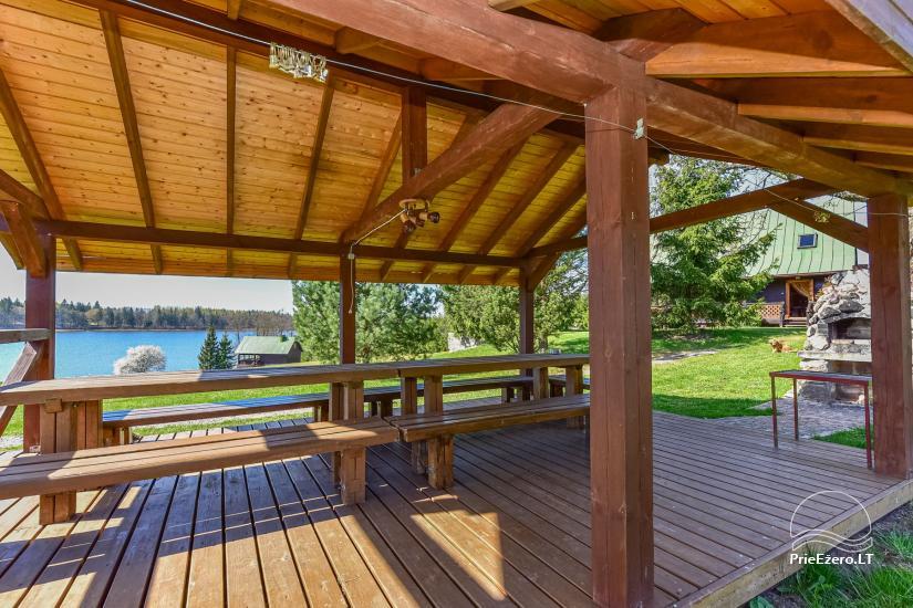 """Sodyba, namelių nuoma """"Gandrė"""" ant Guosto ežero kranto - 7"""