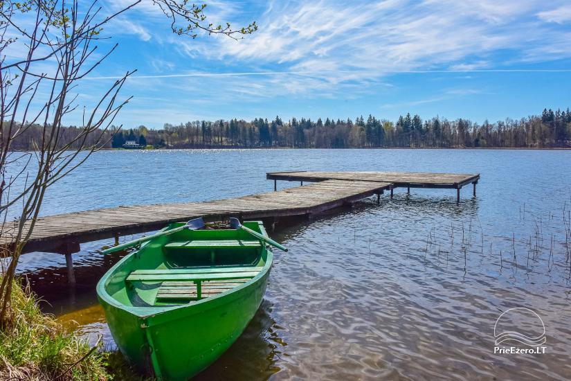 """Sodyba, namelių nuoma """"Gandrė"""" ant Guosto ežero kranto - 14"""