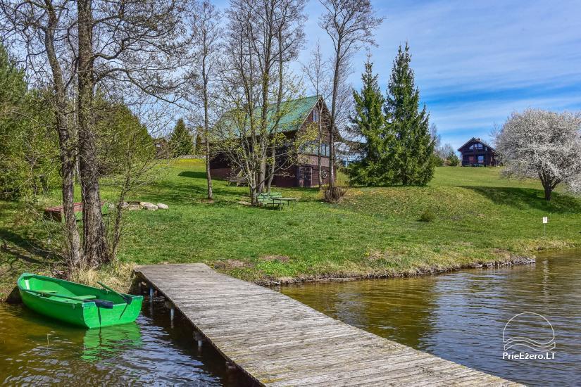 """Sodyba, namelių nuoma """"Gandrė"""" ant Guosto ežero kranto - 15"""